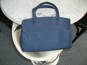 Luggage dark blue