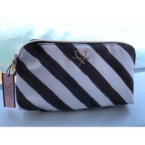 Pink Victoria's Secret Mini Bag black-white