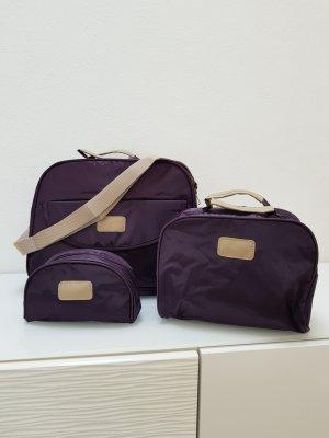 Mini sac brun pourpre-brun sable