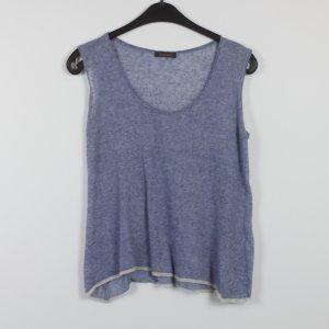 Kosmika Knitted Jumper azure cotton