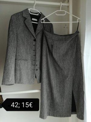 Apriori Tailleur nero-grigio