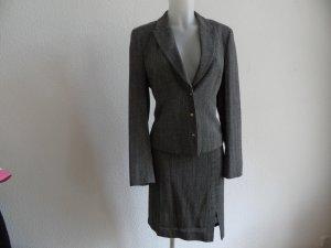 Kostüm Business Anzug von Marc CainGr. 40 Grau Viskose/ Leine Luxus Pur!