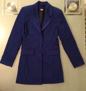 Kostüm Business Blazer Etuikleid Kleid Gr. 34 36 XS S blau NEU