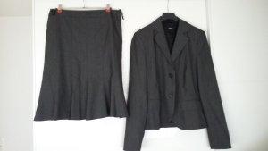 s.Oliver Traje para mujer gris antracita-gris oscuro tejido mezclado