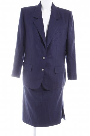 Kostüm dunkelblau Vintage-Look