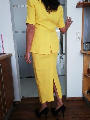 Kostüm Gr 38 gelb