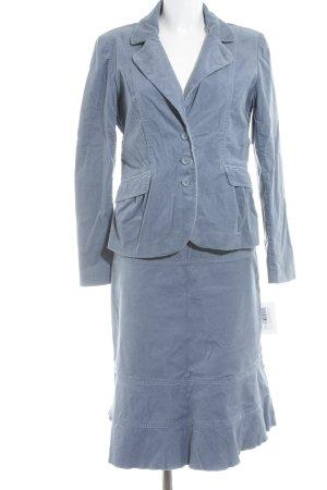 Kostüm graublau Business-Look
