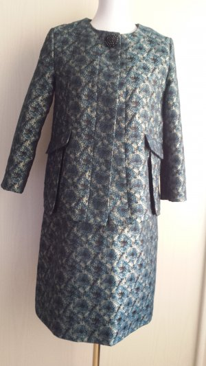 Kostüm Hallhuber neu Kleid mit Blazer Gr 38