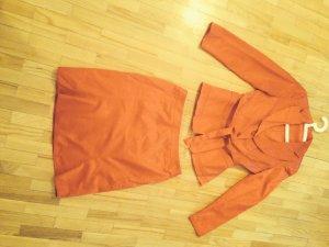 Kostüm in Trendfarbe Rot von Steilmann (Germany) Größe 36