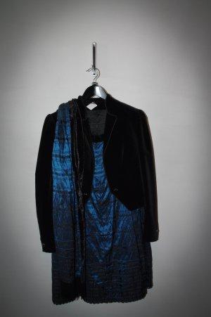 Helene Straßer Traditional Skirt black-dark blue polyester