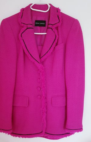 Rena Lange Ladies' Suit black-pink