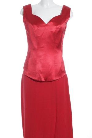 Damespak rood elegant