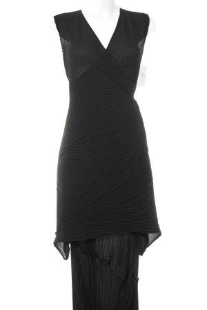 Ladies' Suit black transparent look