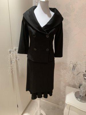 Kostüm Sinéquanone schwarz gr 38 neuwertig