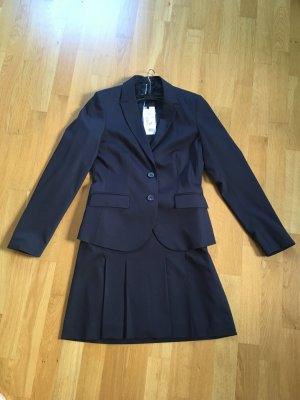 More & More Ladies' Suit dark blue viscose