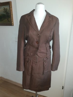 Biba Short Blazer bronze-colored