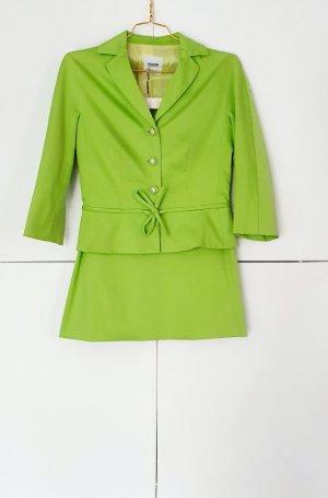 Moschino Cheap and Chic Tailleur vert fluo-vert prairie coton