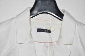 Jake*s Tailleur bianco Cotone