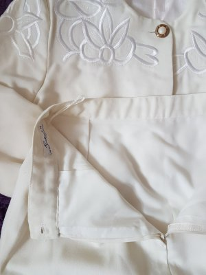 Ladies' Suit natural white-cream