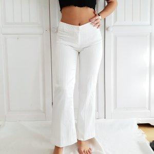 Koton 36 S True vintage Weiß chino hose Anzughose businesshose Zigarettenhose sommerhose jeans