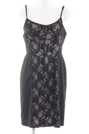 Koton Cocktailkleid schwarz-weiß Elegant