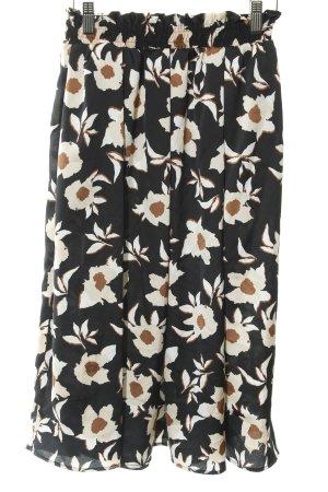 Koton Circle Skirt flower pattern business style
