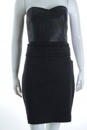 Kova & t schulterfreies Kleid schwarz Party-Look