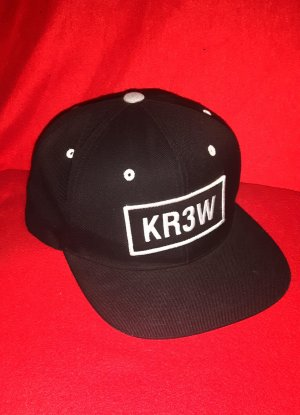 Baseball Cap white-black