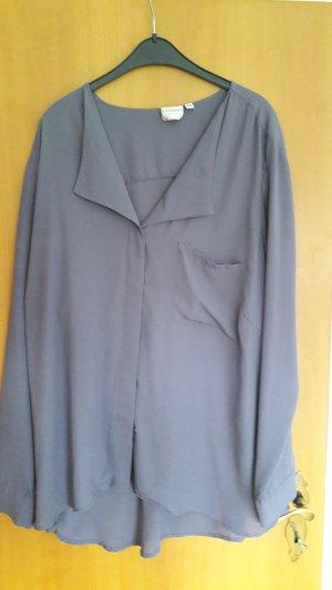 kragenlose Bluse