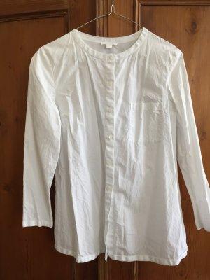 Kragenlose Bluse COS, Gr 36 , Topzustand- nur ein Knopf fehlt