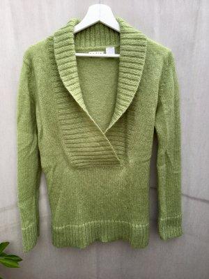 Maglione lavorato a maglia multicolore Mohair