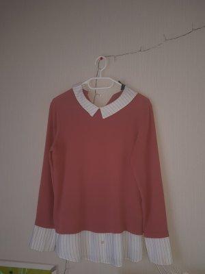 Primark Cols de blouses vieux rose polyester