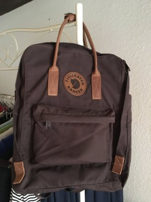 Fjällräven School Backpack dark brown-brown polyester