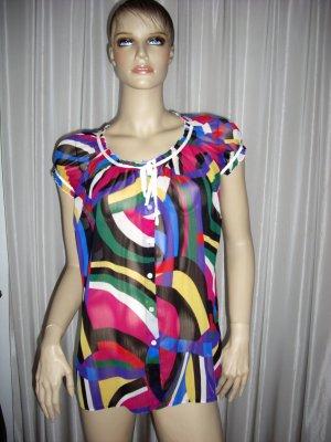 KRASS Designer Bluse Exclusiv in tollen Farben Gr 36/S neuwertig