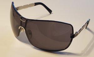 Occhiale nero-argento