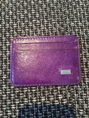 Escada Card Case dark violet