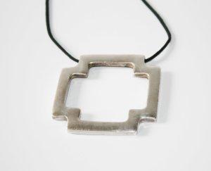 Kreuzanhänger Silber