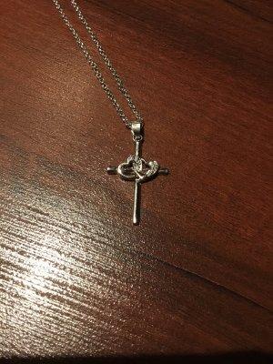 Kreuzkette 925 silber