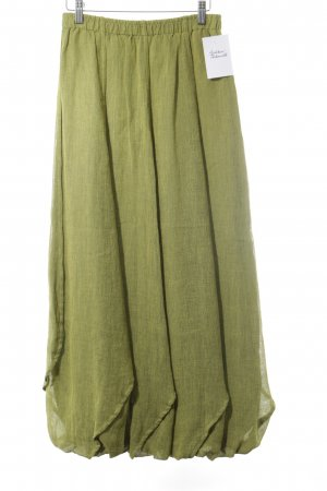Krines Maxi Skirt grass green extravagant style