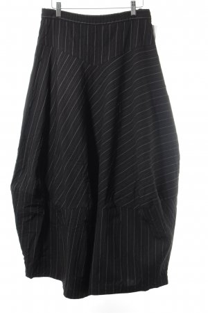 Krines Maxi Skirt striped pattern extravagant style