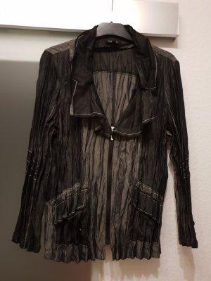 Kriss Blazer Blusenjacke schwarz grau Gr. M neuwertig