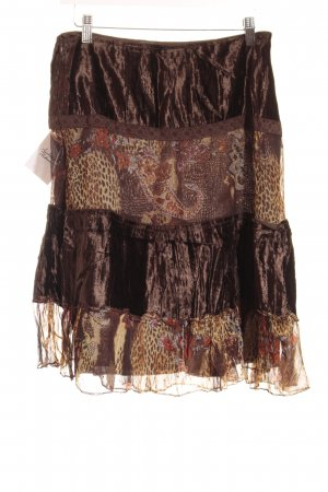 KRISS High Waist Rock florales Muster Gypsy-Look