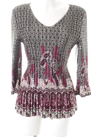 KRISS Langarm-Bluse Mustermix Elegant