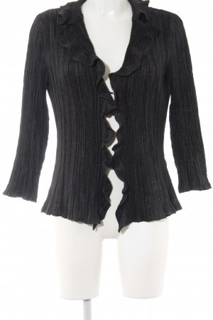 KRISS Cardigan schwarz Casual-Look
