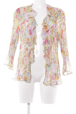 Kriss Sweden Blouse Jacket floral pattern romantic style