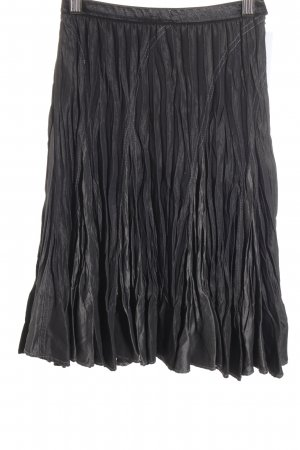 Kriss Sweden Crash Skirt black-anthracite business style
