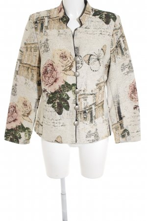 KRISS Traditional Jacket floral pattern classic style