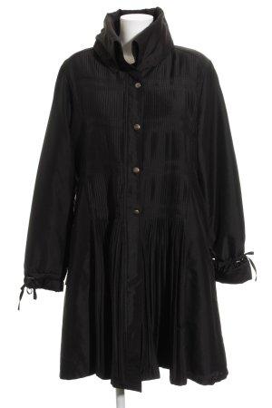 KRISS Übergangsmantel schwarz extravaganter Stil