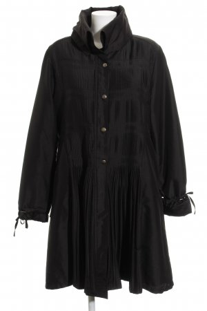 KRISS Overgangsjas zwart extravagante stijl