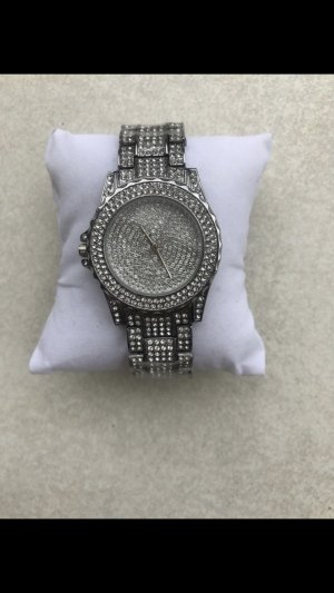 Analog Watch silver-colored
